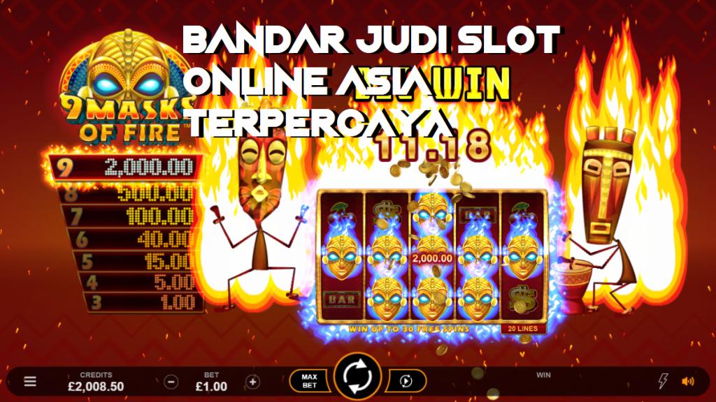Bandar Judi Slot Online Asia Terpercaya